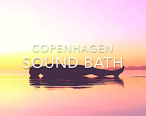 COVER SOUND BATH NEW GOLDEN WITH TEXT NO DATE