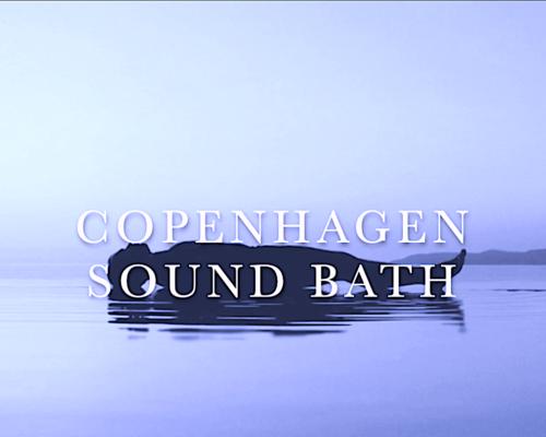 Sound Bath Blå Cover