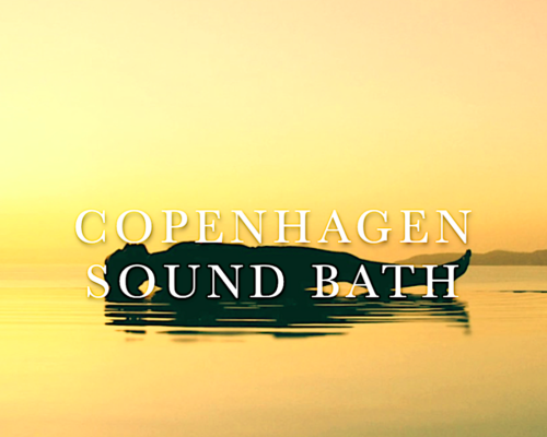 Sound Bath Golden Cover