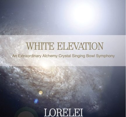 white elevation alchemy crystal singing bowl music